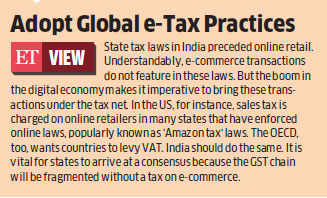 GST: States seek right to tax business-to-business transactions