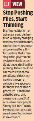 Ravi Shankar Prasad calls for steps to avoid encryption draft-like fiascos