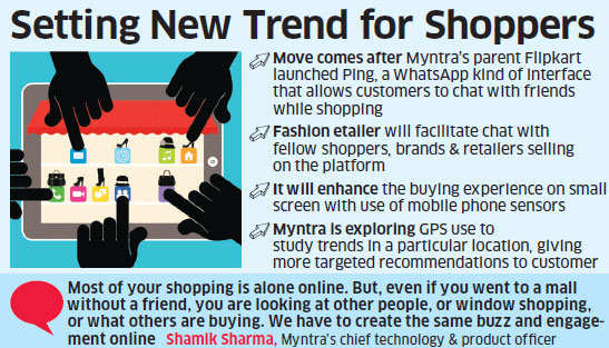 Myntra plans to become the Facebook of fashion; to make app more interactive