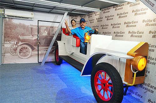 Car designer K Sudhakar attempts world record by designing 26-ft tall car