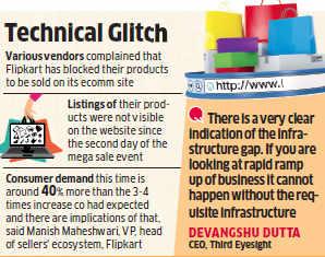 Flipkart's 'Big Billion Days' sale: Vendors suffer this time