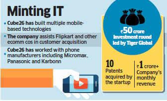 Flipkart makes seed investment in mobile-technology startup Cube26