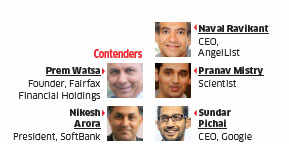 ET Awards 2015: Softbank CEO Nikesh Arora walks away with Global Indian award