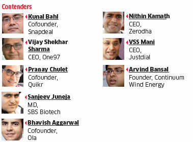 4c170c1d5fd ET Awards 2015  Snapdeal cofounder Kunal Bahl wins Entrepreneur of the Year  award