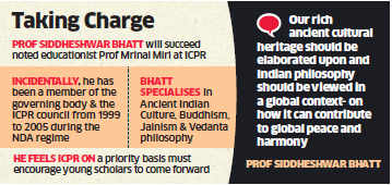 HRD Ministry likely to appoint Sanskritist and philosopher Siddheshwar Bhatt as ICPR chief