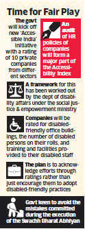 Accessible India: Disabled-friendly initiatives to earn firms brownie points from Modi government