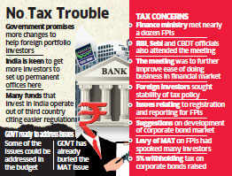 Foreign portfolio investors seek stable tax policies to set up fund management businesses