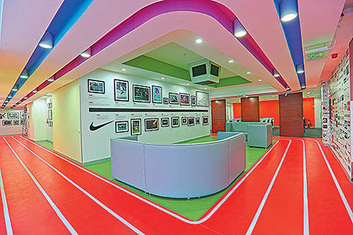 Colour meets couture in Myntra's redone office