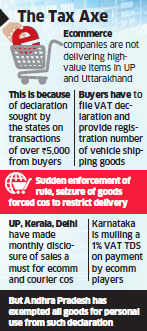 Top ecommerce firms Flipkart, Amazon, Snapdeal shun UP, Uttarakhand post tax hassles
