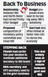 Finance Ministry steps up ties with RBI; to nominate Shaktikanta Das to RBI board