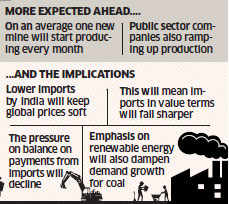 Reducing imports, increasing production - a dramatic turnaround of coal sector