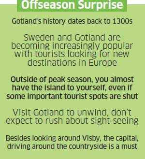 Gotland: This Swedish island offers tourists a leisurely peep into some ancient history