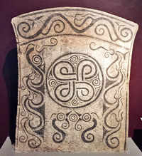 A tablet from the era of the Vikings. (Picture by: Bhavna Satyanarayan)