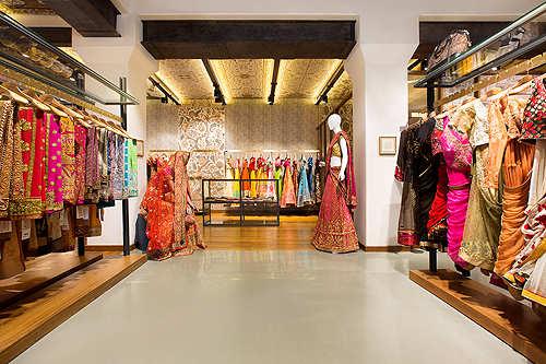 Inside Ritu Kumar's plush new Mumbai studio