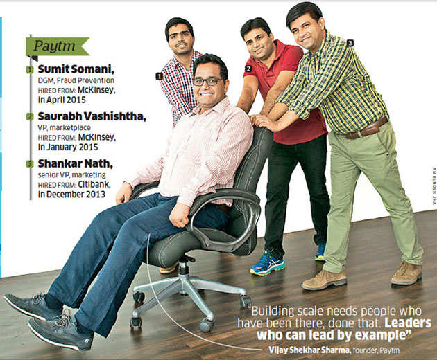 How startups, in growth mode, are poaching talent from MNCs & global consulting firms