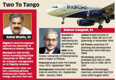 Rakesh Gangwal & Rahul Bhatia: Men behind IndiGo's blockbuster takeoff
