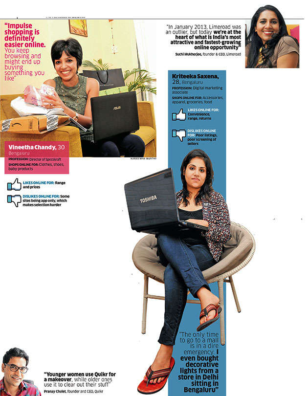 How ladies are fuelling the e-commerce boom in India - The