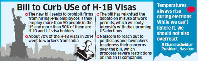 Nasscom to intensify lobbying efforts in the US; experts slam 'H1B visa abuse'