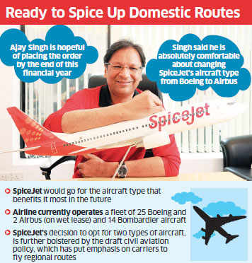 Aided by a turnaround in fortunes, SpiceJet in talks to buy 150 planes