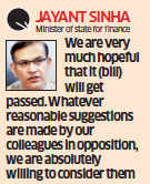 Hopeful that GST amendment bill will get passed, will consider opposition suggestions: Jayant Sinha