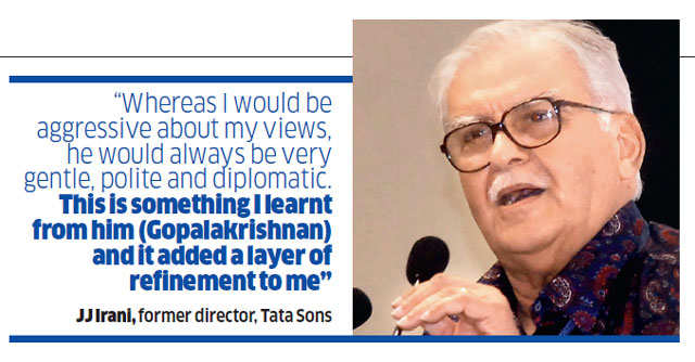 R Gopalakrishnan prepares to hang up his boots at Bombay House