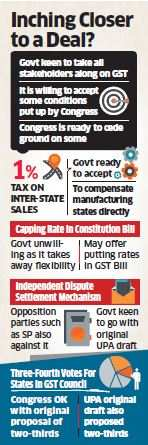 Government may scrap 1% inter-state tax to move closer to GST