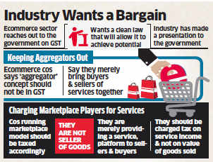 Ecommerce companies want government to keep aggregators out of GST