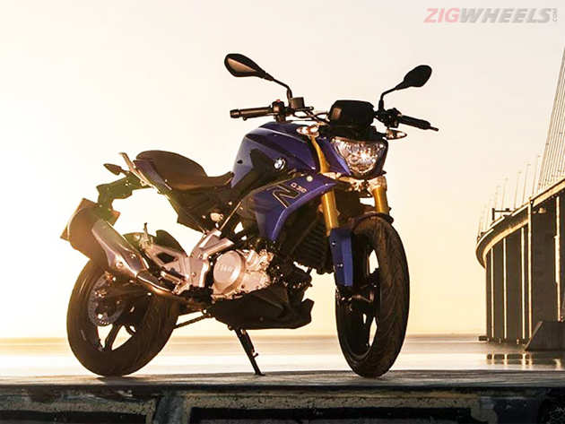 BMW unveils India-bound G310R - The Economic Times