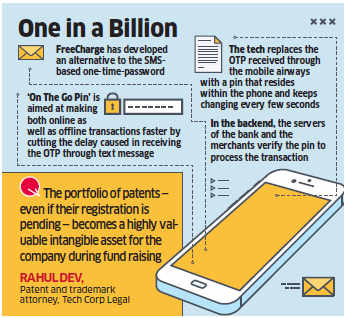 FreeCharge's patent filing for alternative to OTP a wake up call for other companies