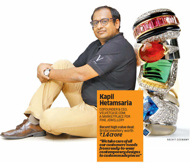 Taking e-commerce to another level: Meet a clutch of affluent Indians who are buying diamonds online
