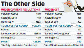 Importers' profits to rise: Government to plug GST loophole that may hit 'Make in India'