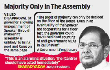 Proceedings outside premises of the original assembly 'invalid': Top BJP leader