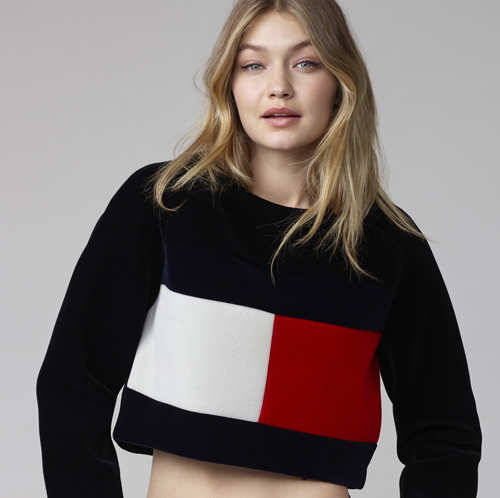 9fa673d197 Gigi Hadid to be the new face of US fashion brand Tommy Hilfiger ...