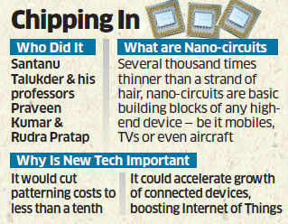 IISc makes big impact on small world of chips; devised a method to lay circuits in electronic chips
