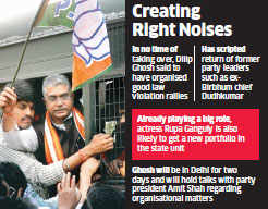 West Bengal BJP chief Dilip Ghosh gets free hand to name team to take on TMC