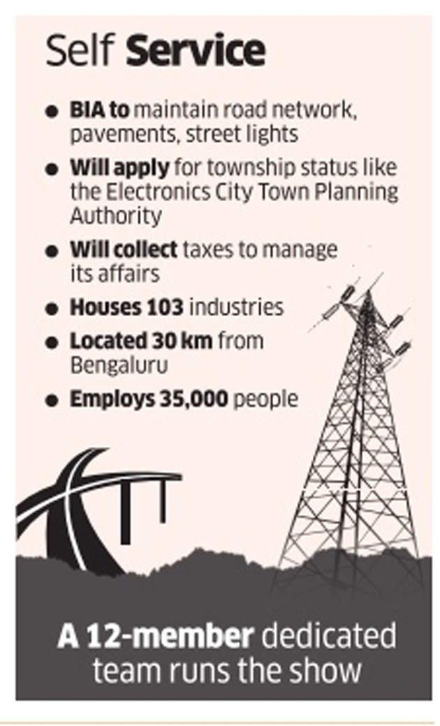 Cos in Bidadi to take over complete maintenance of industrial estate