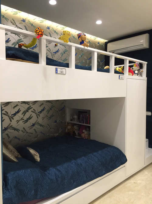 Snazzy bedrooms trending for city's tiny tots