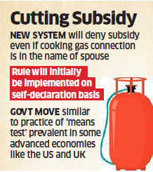 No LPG subsidy for consumers with taxable income of more than Rs 10 lakh from January 1