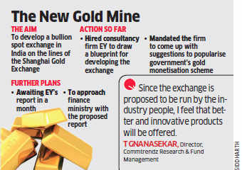 IBJA hires consultancy firm EY to draw blueprint for developing bullion spot exchange in India