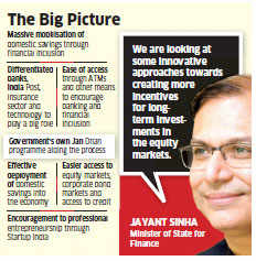 Budget 2016 may offer sops for long-term equity investments: Jayant Sinha