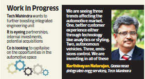 Tech Mahindra still eyeing options to boost its engineering services