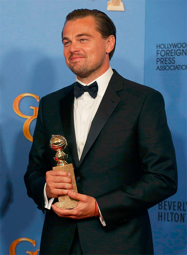 From Leonardo DiCaprio to Denzel Washington, seven celebs in Armani suits at the Golden Globes