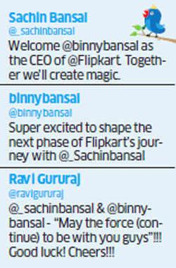 Flipkart's new CEO Binny Bansal is ready to steer company's fortunes