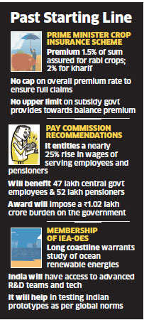 Centre unveils new Prime Minister Crop Insurance Scheme, no upper limit on government subsidy