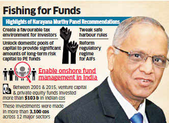 Sebi panel headed by NR Narayana Murthy proposes easier norms for VC, PE funds