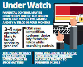 Parental firewall for porn in the works; telcos may offer parents with censorship tool