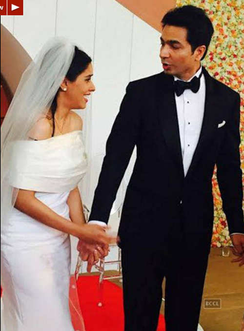 Asin ties the knot with Micromax co-founder Rahul Sharma in Delhi