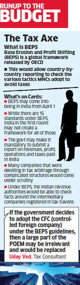 Budget 2016 may introduce BEPS to make tax evasion difficult for MNCs