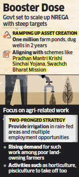 Narendra Modi government sets ambitious asset creation targets for MGNREGS