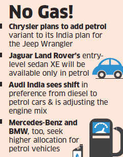 Diesel ban: Luxury car companies like Audi, Mercedes-Benz, BMW shift gears in favour of petrol